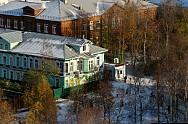 Arkhangelsk sở hữu những ngôi nhà gỗ tuyệt đẹp