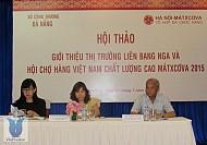Matxcova - Nga: diễn ra hội chợ hàng Việt Nam chất lượng cao