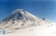 Núi Lửa Klyuchevskaya Sopka