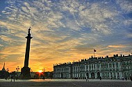 Quảng Trường Cung Điện Saint Petersburg