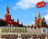 Tour - MOSCOW - CRUM ISLAND từ TP.HCM