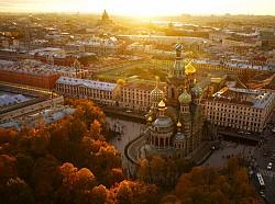 Dạo quanh ngoại ô St.Petersburg - Ngắm cảnh kiến trúc đồ sộ bên rìa thành phố.