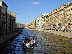 Hệ Thống Kênh Đào Saint Petersburg