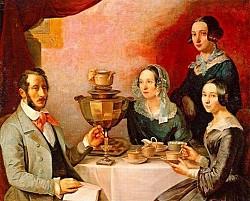 Khám phá chiếc ấm đun sôi Samovar truyền thống uống trà của nước Nga