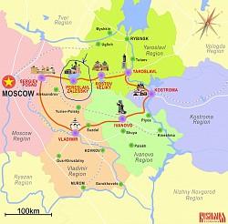 Pereslavl Zalessky - Khu rừng cổ được chiếu sáng từ hệ thống chiếc nhẫn vàng
