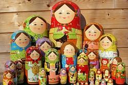 Qua Lưu Niệm Và Đồ Thủ Công Mỹ Nghệ Của Nga