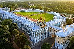 Rực rỡ cung điện Catherine – điểm đến đầy hấp dẫn