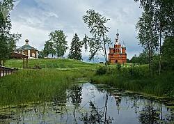 Sông Volga đẹp ngỡ ngàng trong từng khuôn ảnh