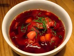 Súp củ cải đỏ Borshch