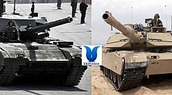 Xe tăng Armata Nga vs xe tăng Abrams của Mỹ
