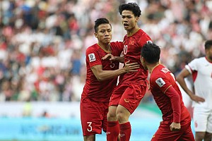 Rating truyền hình cao kỷ lục trận đấu giữa Việt Nam gặp Jordan