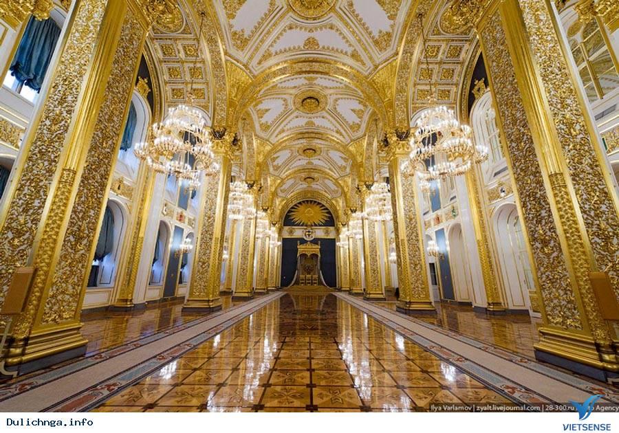 Cung điện Kremlin – Niềm tự hào mãnh liệt của nước Nga