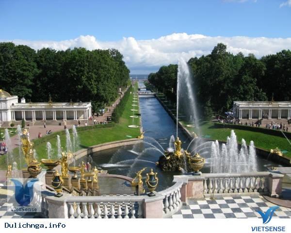 Cung điện Pavlovsk,cung dien pavlovsk, du lich, nga