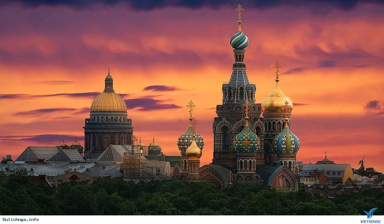 Du lịch chiêm ngưỡng đêm trắng ở nước Nga,du lich chiem nguong dem trang o nuoc nga