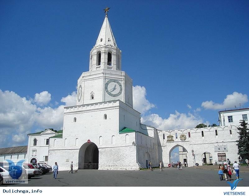 Kazan Kremli, pháo đài, nhà thờ, du lich nga