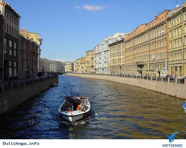Kenh dao Saint Petersburg, kenh dao saint petersburg
