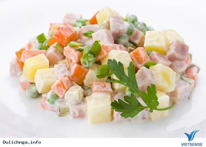 Nguồn Gốc Món Salad Nga Olivier