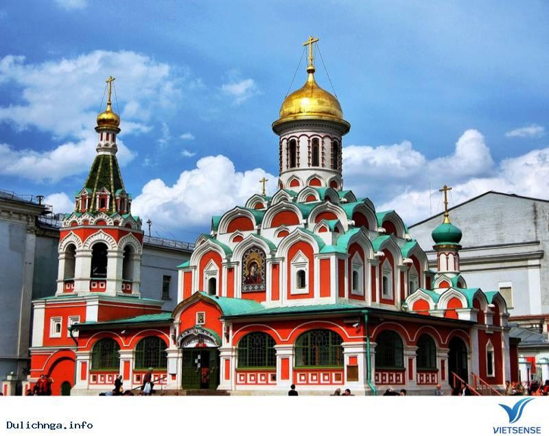 Nhà thờ Kazan lộng lẫy của cường quốc Nga