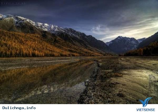 Núi vàng Altai,nui vang altai, du lịch nga