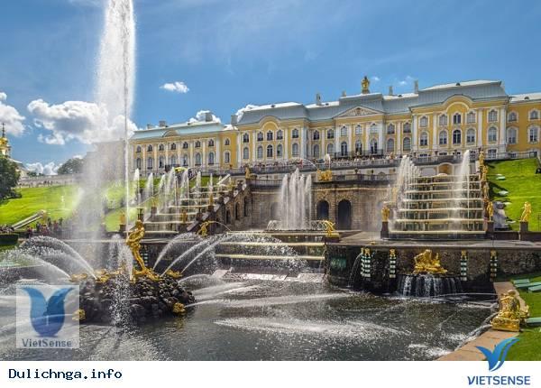 Peterhof - Cung Điện Mùa Hè,peterhof  cung dien mua he