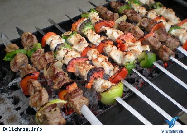 Shashlik thịt nướng