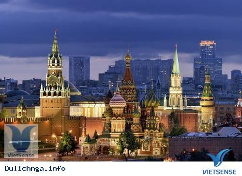 Tổng hợp các nhà thờ nổi tiếng ở Nga, du lich nga
