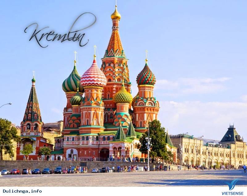 Tour du lịch Nga 6 ngày 5 đêm