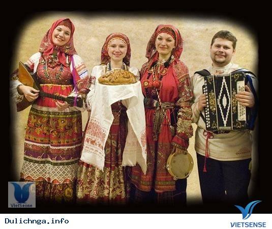 Trang phục truyền thống của Nga, du lịch nga