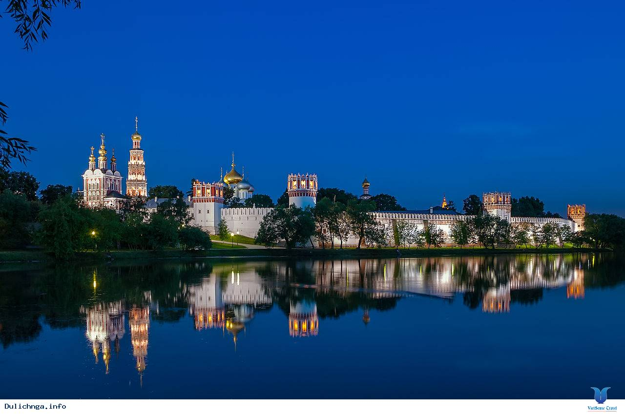 Tu viện Novodevichy Moscow - New Maidens Convent - Ảnh 1