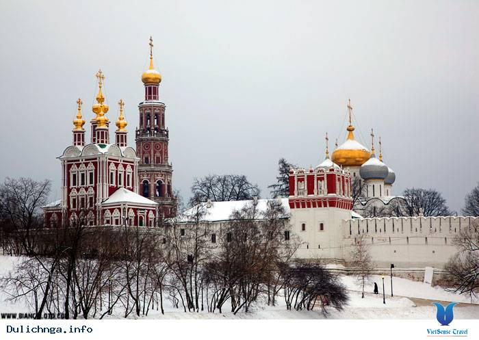 Tu viện Novodevichy Moscow - New Maidens Convent - Ảnh 7